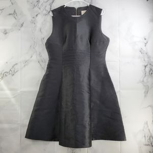 Kate Spade Like New Satin Fit and Flare Dress